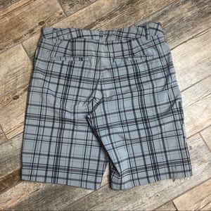 Fila Shorts - FILA Sport Golf Shorts 34 Mens Grey Plaid